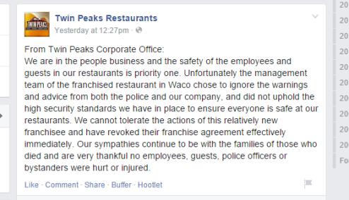Twin Peaks facebook 2